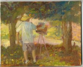 Kevin Paints Plein Air